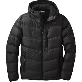 Outdoor Research Transcendent Chaqueta Capucha Hombre, black